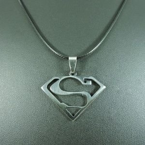 Other - Stainless Steel Superman Pendant Necklace